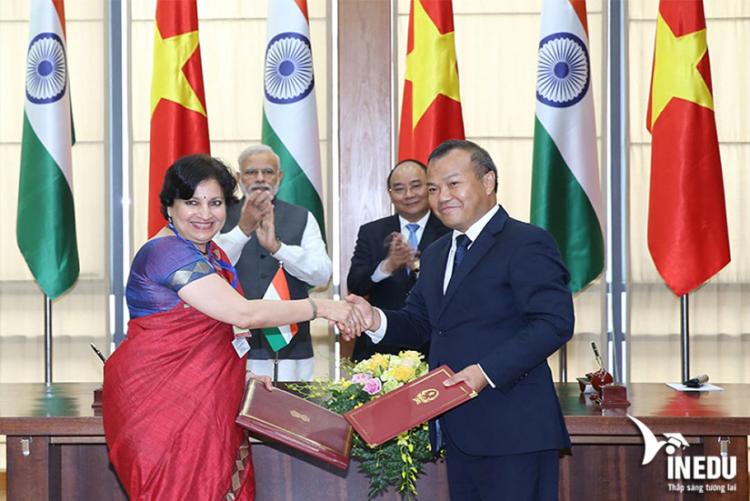 Mối quan hệ ngoại giao giữa Việt Nam và Ấn Độ