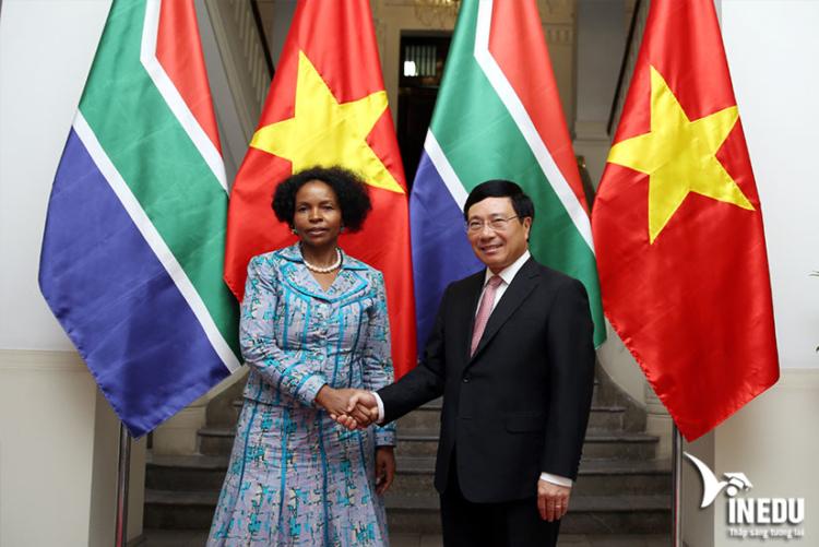 Quan hệ hợp tác của Việt Nam và Nam Phi