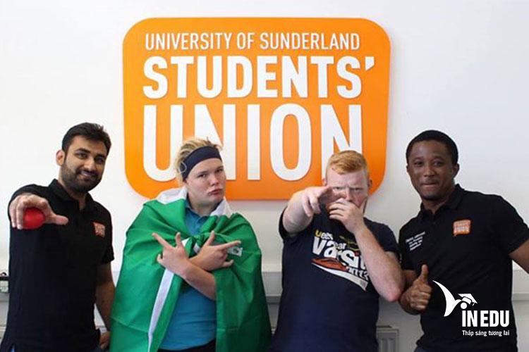 Học phí tại đại học Sunderland dành cho sinh viên quốc tế