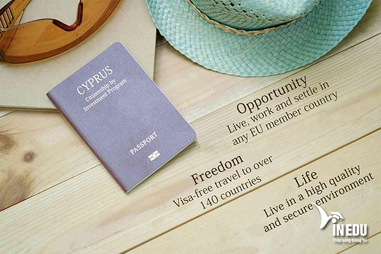 Visa Síp mang tới rất nhiều lợi ích