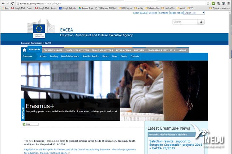 Đăng ký chương trình Erasmus online