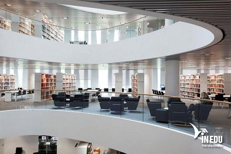 Cơ sở hạ tầng hiện đại phục vụ nhu cầu học tập và giảng dạy