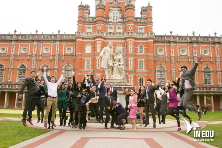 Cơ hội học tập và tìm hiểu tại một trong những ngôi trường danh giá tại Anh quốc