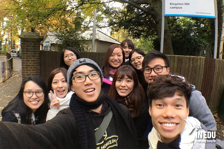 Học tập và trao đổi văn hoá tại Đại học Kingston, London