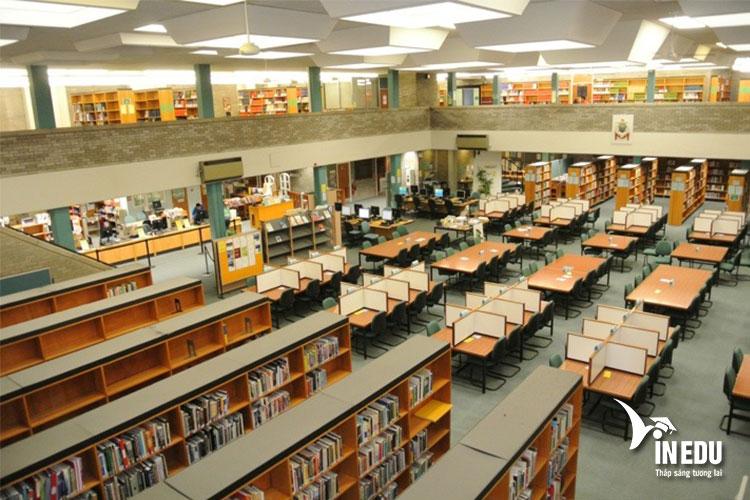 Trường sở hữu hệ thống phòng thể thao, thư viện, phòng thí nghiệm tối tân nhất