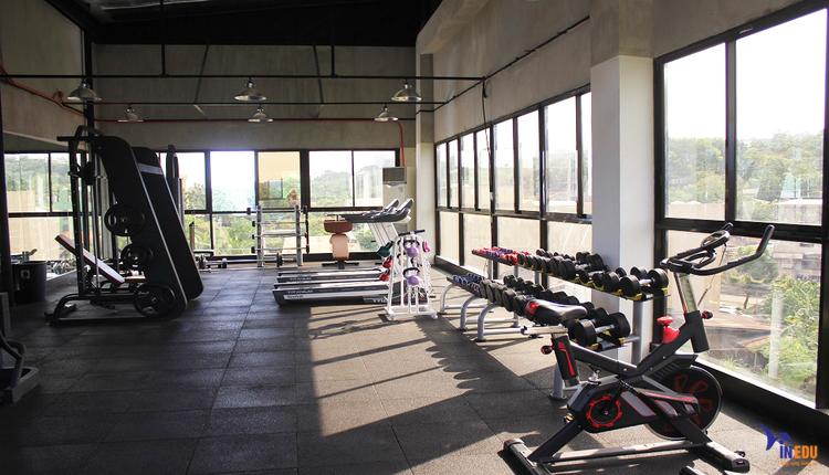 Phòng tập gym của trường