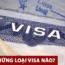 Có những loại visa nào cho người Việt Nam ra nước ngoài?