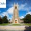 Duke University danh tiếng và học bổng toàn phần
