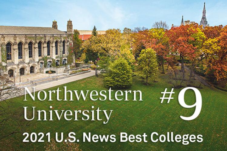 Các thành tích đạo tạo và xếp hạng của Đại học Northwestern