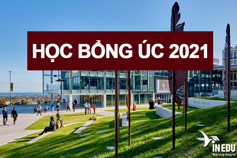 Tổng hợp học bổng du học Úc 2021 - Các trường quen thuộc